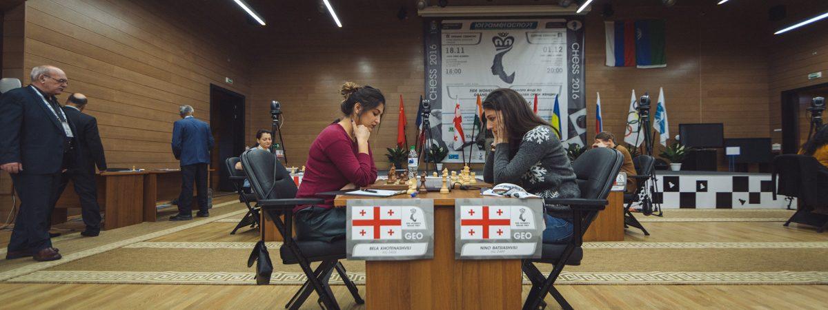 Bela Khotenashvili (GEO) vs Nino Batsiashvili (GEO)
