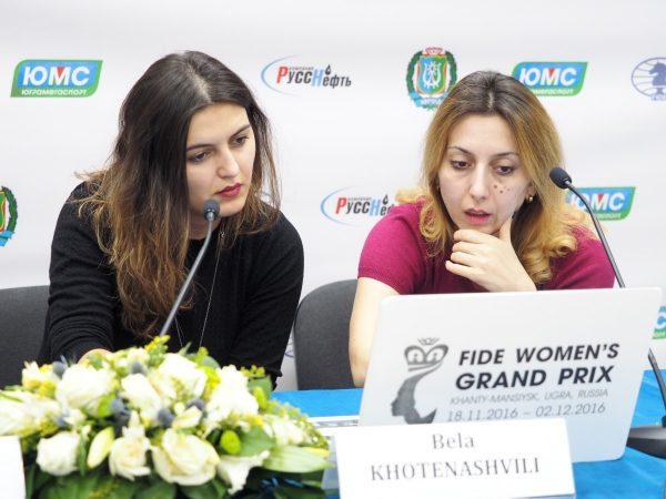 Bela Khotenashvili (GEO) and Lela Javakhishvili (GEO)