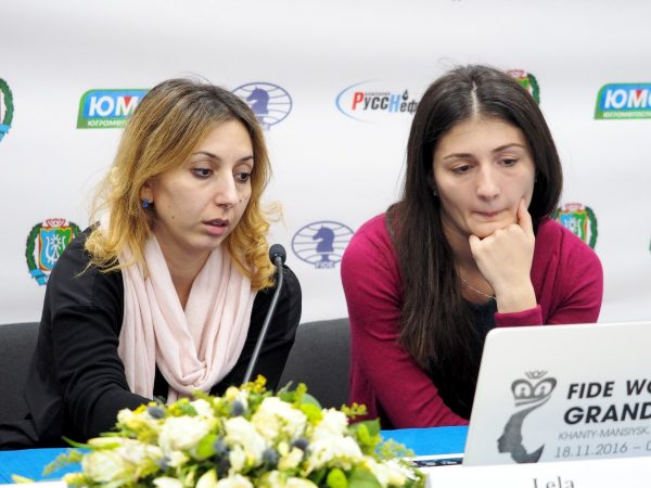 Lela Javakhishvili (GEO) and Nino Batsiashvili (GEO)