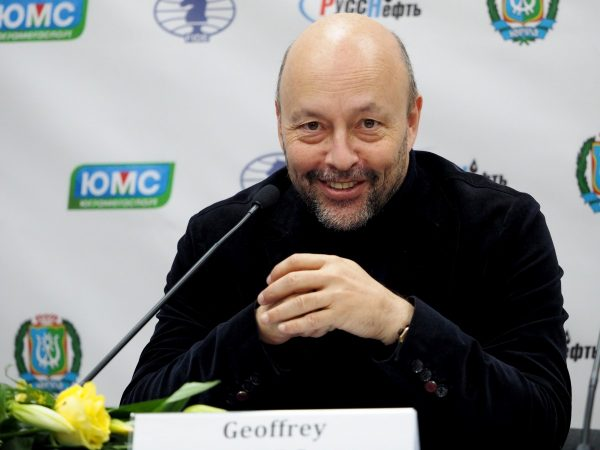 CEO of FIDE Geoffrey Borg