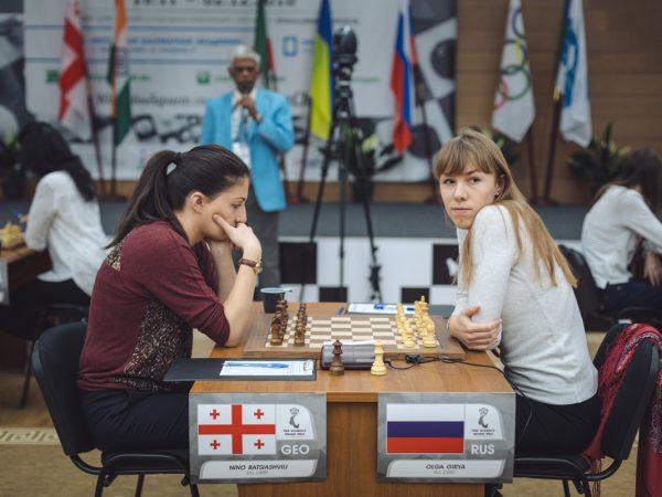 Nino Batsiashvili (GEO) and Olga Girya (RUS)