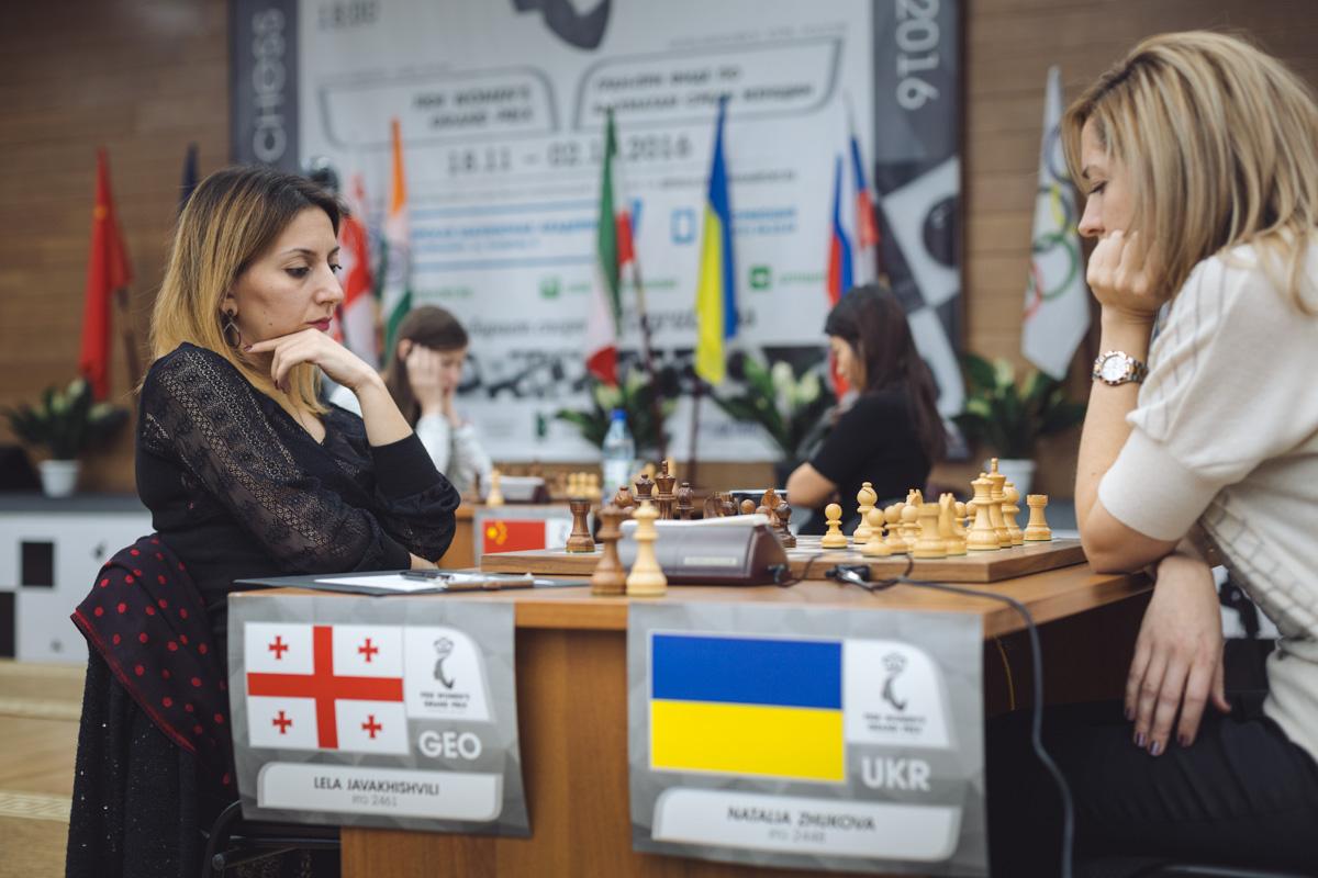 Lela Javakhishvili (GEO) and Natalia Zhukova (UKR)