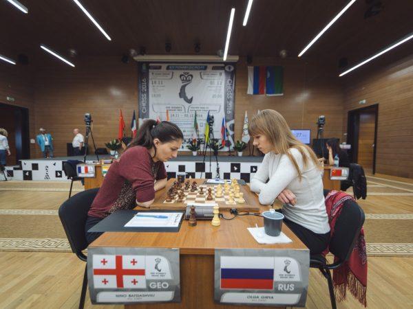Olga Girya (RUS) and Nino Batsiashvili (GEO)