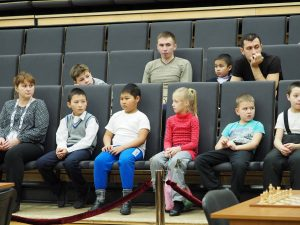 among the audience